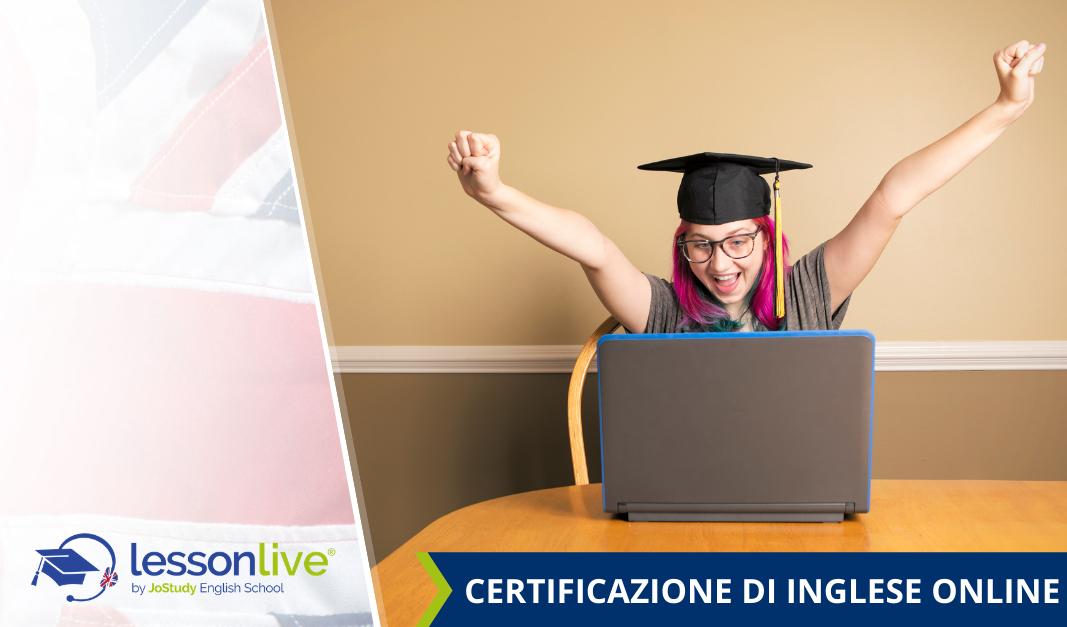 Certificazione di inglese online: come si svolge la prova d'esame