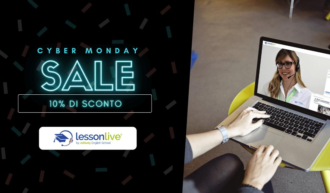 Cyber Monday: il gran finale delle offerte Lesson Live