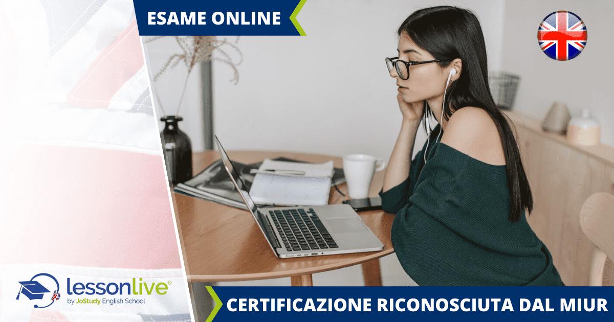 Certificazioni di inglese online
